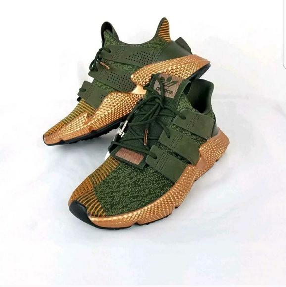 Adidas Copper and dark green khaki Prophere women